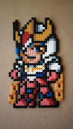 Ikki - Saint Seiya Perler Beads