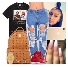 """""""Untitled #1369"""" by msixo ❤ liked on Polyvore featuring MCM and Rolex"""
