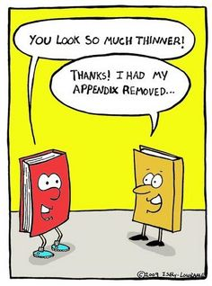 Nerdy bookworm joke!