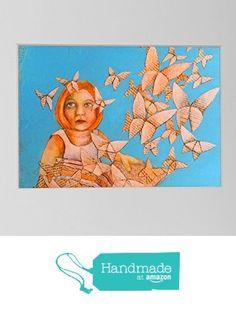 Bild Kinderzimmer, Kunstdruck Leseratte, Origami Schmetterling, Acryl Bild Buchseiten, Druck Mädchen, book art, Kunst Kind, Geschenk Mädchen von der Atelier Dorothea Koch https://www.amazon.de/dp/B01LZWA8MU/ref=hnd_sw_r_pi_dp_0OAjybGCAM8YE #handmadeatamazon