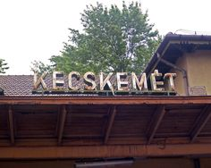 Kecskemet train station, Hungary