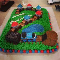Alex's 2nd birthday cake amazingness