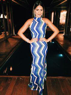 Agua de Coco Dress. Thassia Naves