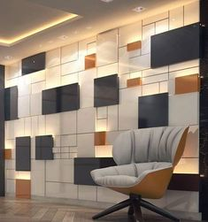 Best Ideas For Wall Paneling Design Ideas Office Wall Design, Wall Panel Design, Workspace Design, Office Interior Design, Interior Walls, Office Interiors, Wall Cladding Interior, Corporate Interiors, Bibliotheque Design