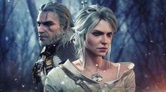 Geralt and Ciri by AnubisDHL on DeviantArt