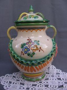 Orza  cerámica Puente del Arzobispo de J. Rodriguez