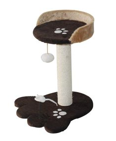 Featuring a sisal scratching post, dangling toy, and fur-lined top tier, this must-have cat tree offers hours of fun--and the perfect spot for a nap afterwar. Cat Tree Condo, Cat Condo, Cat Activity, Cat Perch, Cat Shelves, Pet Furniture, Cat Accessories, Scratching Post, Cat Supplies