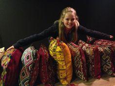 Marokkaanse kussens, allemaal uniek!