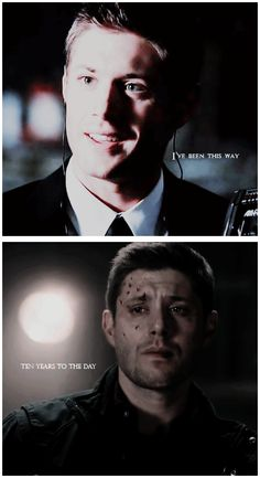 [GIFSET] Dean Winchester then and now.....Ramble On, Led Zeppelin...aka one of Dean's favorite songs