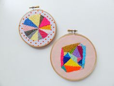 embroidery by Beci Orpin