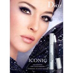 Monica Bellucci for Dior. Makeup Ads, Dior Makeup, Eye Makeup, Makeup Geek, Dior Beauty, Beauty Makeup, Eye Stye Remedies, Monica Belluci, Cosmetics Market