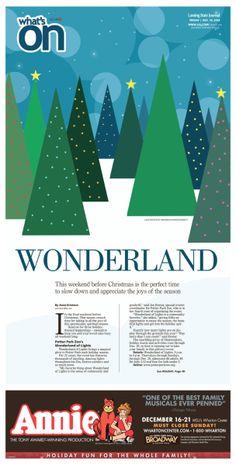 Wonderland #Newspaper #GraphicDesign #Layout