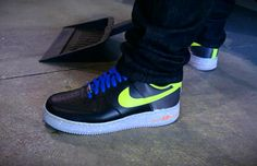 Nike Air Force 1 Low – Black – Yellow – Cement