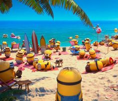 Bring ALL your Minions to the beach!   Book at http://marriott.com/jench using promo code FLP for our Endless Summer Fall promotion - 15% off regular rate + $20 Food / Drink credit daily + OCEANFRONT UPGRADE!