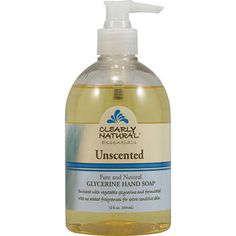 Clearly Natural Pure And Natural Glycerine Hand Soap Unscented -- 12 Fl Oz