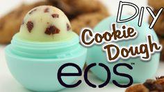 EOS selber machen DEUTSCH   DIY EOS Cookie Dough Lip Balm   Geschenkidee