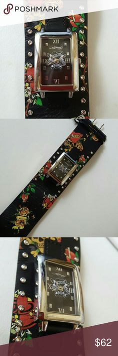 Ed Hardy Watch Ed Hardy Watch, like new. Accessories Watches