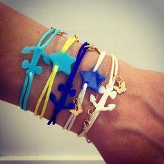 Borboleta 'Sail away with Me' bracelets