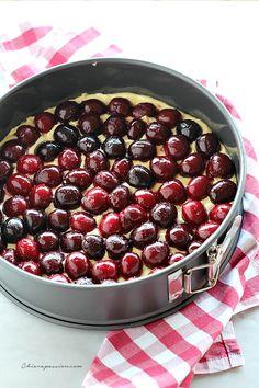 Torta morbida con le ciliegie – Chiarapassion