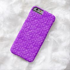 Vintage Purple Pattern iPhone 6 Case by BOLO Designs.