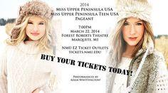 March 22 and 23rd MISS UPPER PENINSULA USA - entertainment -Adam Whittington