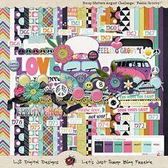 Scrapbooking TammyTags -- TT - Designer - Let's Just Scrap, TT - Item - Kit or Collection