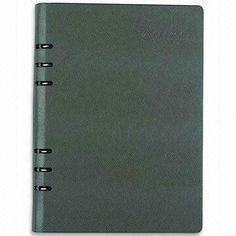 Leather Notebook, Customized Sizes and Printings are Accepted, Available in Various Colors