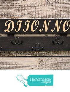 Coat Rack Rustic Wood Coat Rack With 5 Hooks