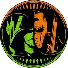 Bullets and Arrows - Green Arrow and Deathstroke Arrow Cw, Arrow Oliver, Team Arrow, Comic Books Art, Comic Art, Superman, Batman, Dc Legends Of Tomorrow, Dc Comics Art