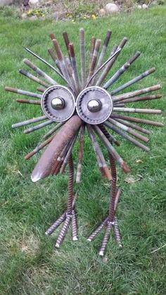 Image result for welded junk art