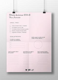 Cómo organizar y planificar el armario (+ Imprimible gratuito) #compras #trucos #armario #capsula