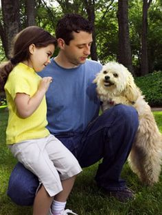 Learn how to teach your kids to be dog-friendly. #pets