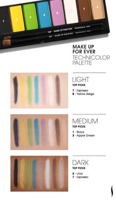 MAKE UP FOR EVER Technicolor Palette  #Sephora #eyecandy