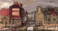 Glasgow street scene sold by Sotheby's, London, on Monday, April 24, 2006