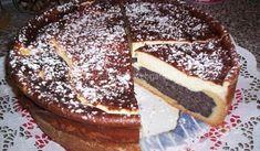 Makový dort se zakysanou smetanou | recept Eastern European Recipes, Pavlova, Pancakes, French Toast, Cheesecake, Dishes, Breakfast, Sweet, Desserts