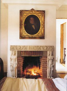 World of Interiors Richmond Hill, World Of Interiors, Hudson River, House In The Woods, Cosy, Fireplaces, Interior Design, Magnolias, Hadley