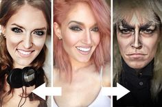 Community Post: This Incredible Makeup Artist Can Transform Herself Into Anyone And...