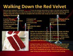 walking-down-the-red-velvet by Catalina Linkava via Slideshare