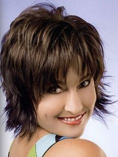Short Shag Hairstyles For Women Over 50 | Over 50 Hair Styles Ideas | Makeup Tips and Fashion: