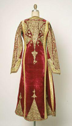 Ensemble: 19th century Sewing Patterns, Kimono Top, Vintage Fashion, High Neck Dress, Velvet, Larp, Middle East, Coat, 19th Century
