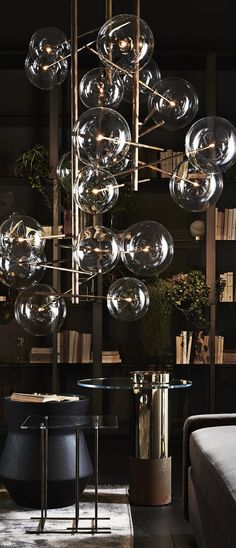Art Deco inspired lighting by Bocadolobo