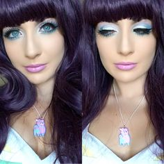 Makeup of the Day: MERMAID by FuschiaTea. Browse our real-girl gallery #TheBeautyBoard on Sephora.com & upload your own look for the chance to be featured here! #Sephora #MOTD