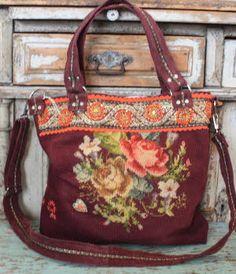 cute embroidered vintage bag