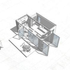 Container-Architektur - Projekte bereit für Bauen, Mieten oder Kaufen. Full-service: von der Idee bis zu Auslieferung. Made in Berlin & Kuala Lumpur