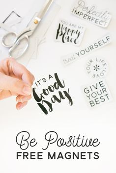 Be Positive Free Mag
