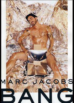 Marc Jacobs, Bang Mens Fragrance Campaign, 2010.