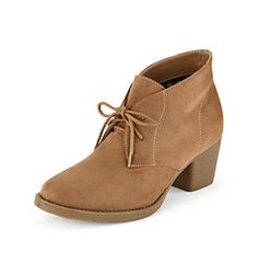 """Relativity® """"Heidi"""" Lace-Up Ankle Boots at www.herbergers.com"""