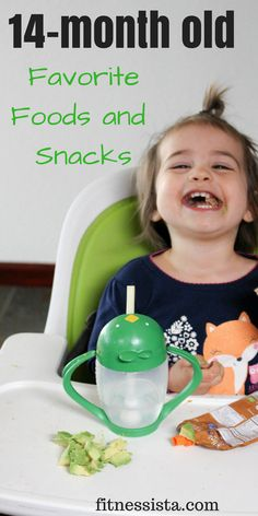 14-month old favorite foods and snack ideas