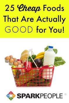 Definitely picking up a bunch of these suggestions during my next grocery run. | via @SparkPeople #healthy