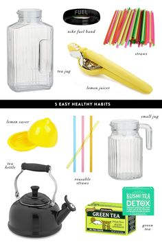 5 Easy Healthy Habits (I do most of them daily!)